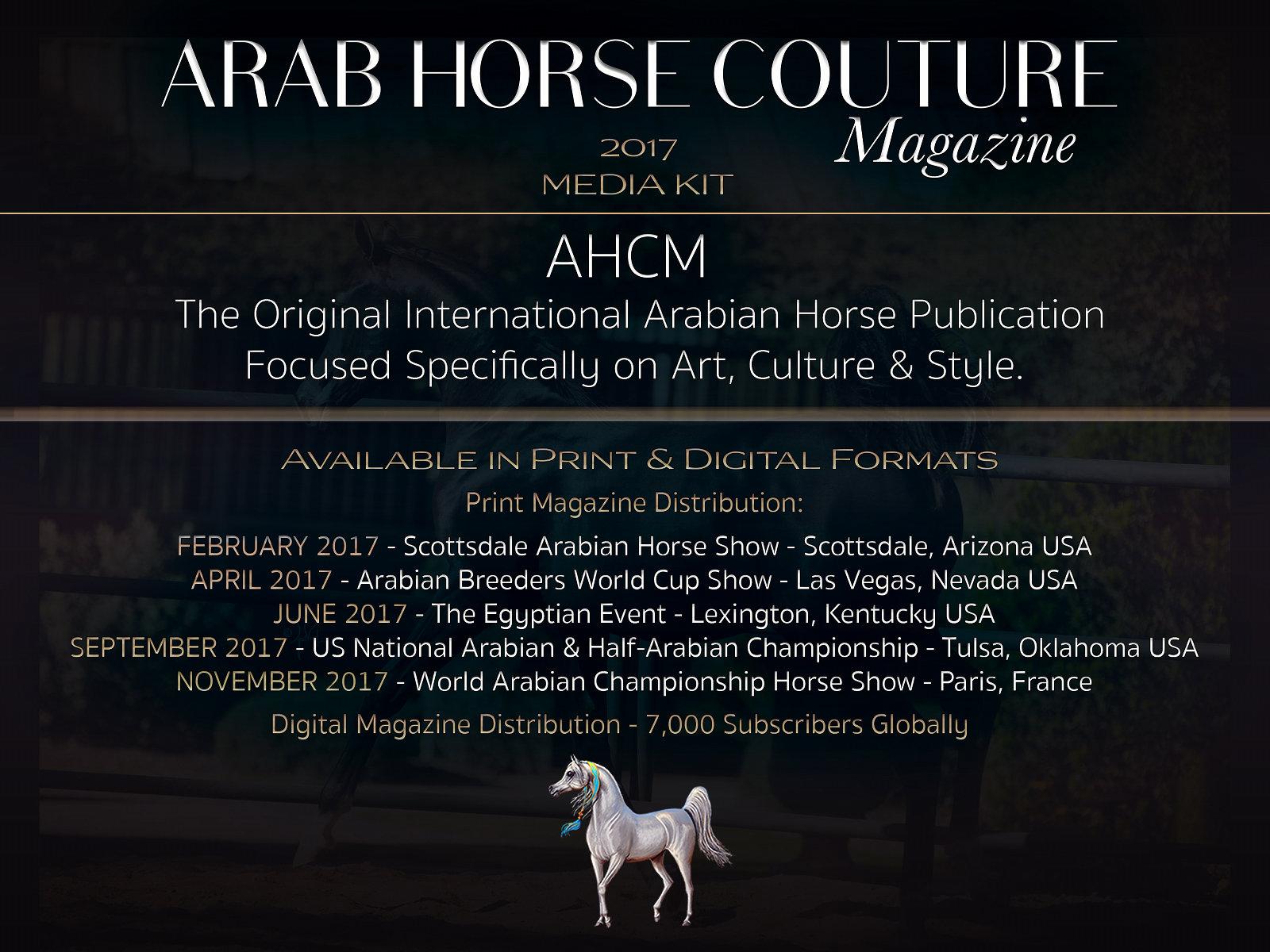 Horse deals media kit
